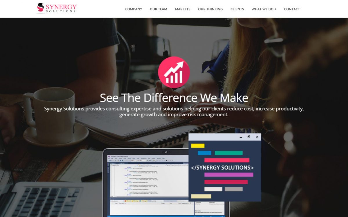 Grafika realizacji - Synergy Solutions