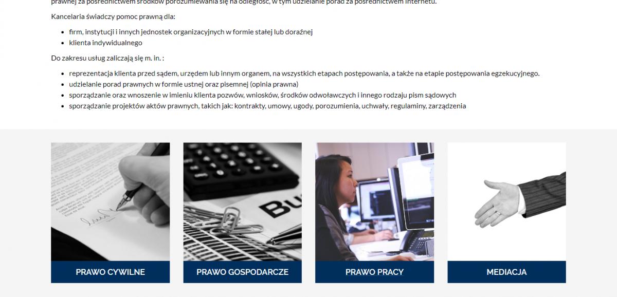 Grafika realizacji - Kancelaria Radcy Prawnego Marcin Margos