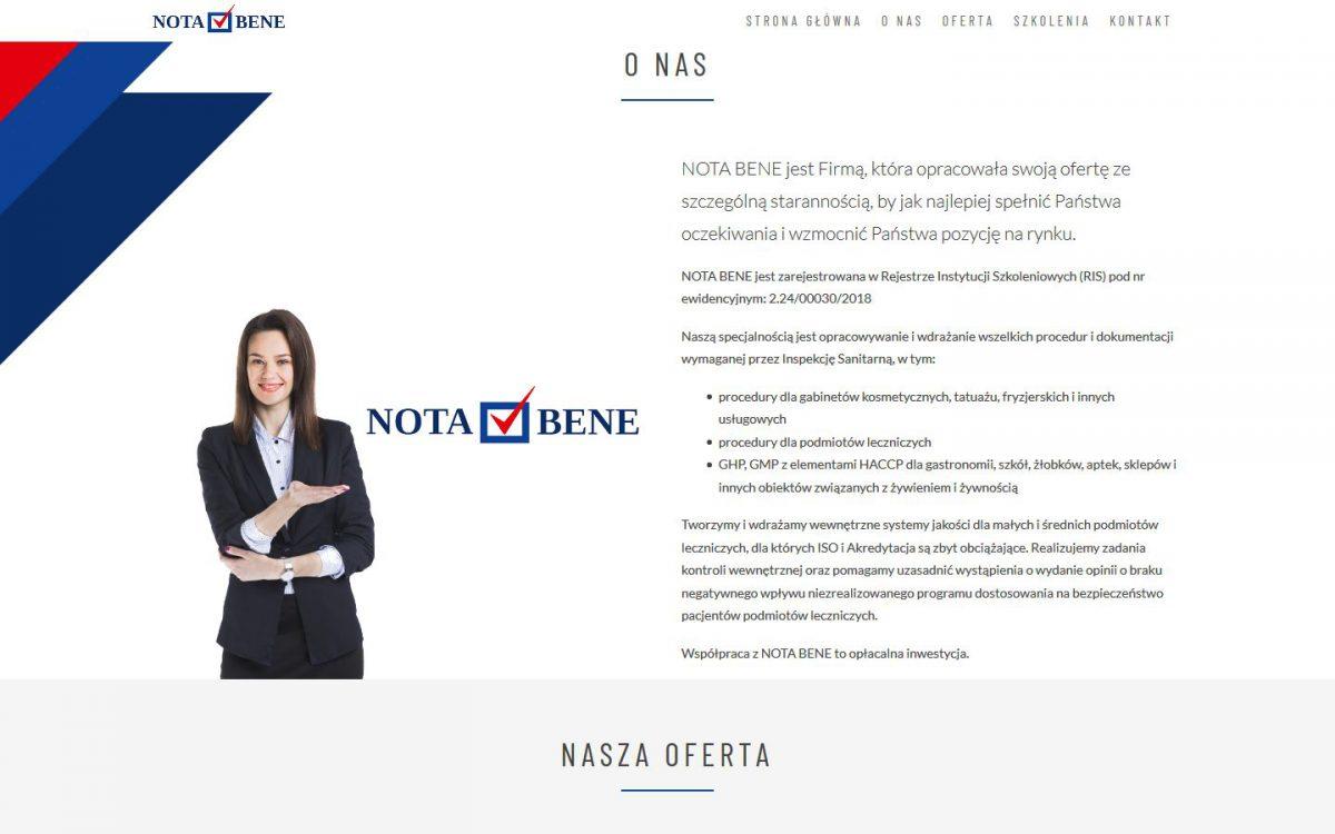 Grafika realizacji - Nota Bene